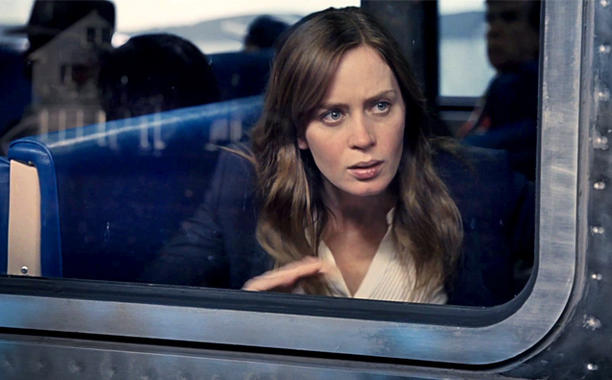 Emily Blunt in 'The Girl on the Train'.