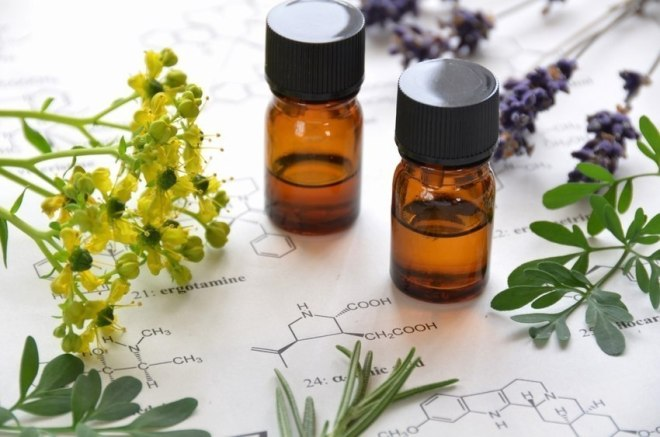 The world of essential oils.