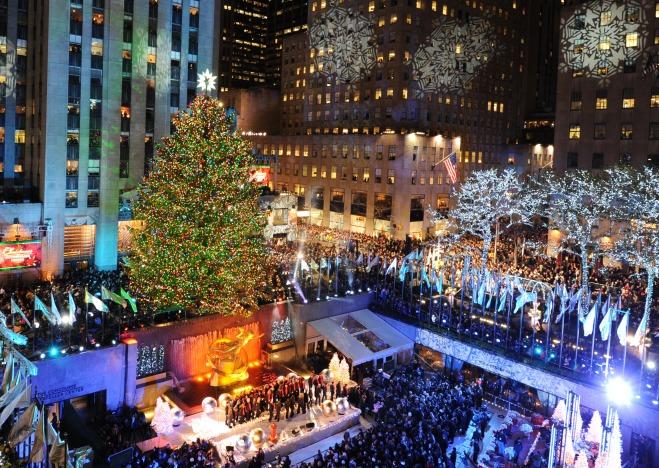 The Rockefeller Center Christmas Tree.