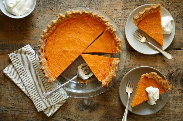 Sweet Potato Pie from the New York Times.