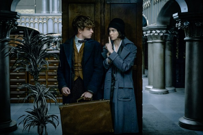 A scene from 'Fantastic Beasts'.