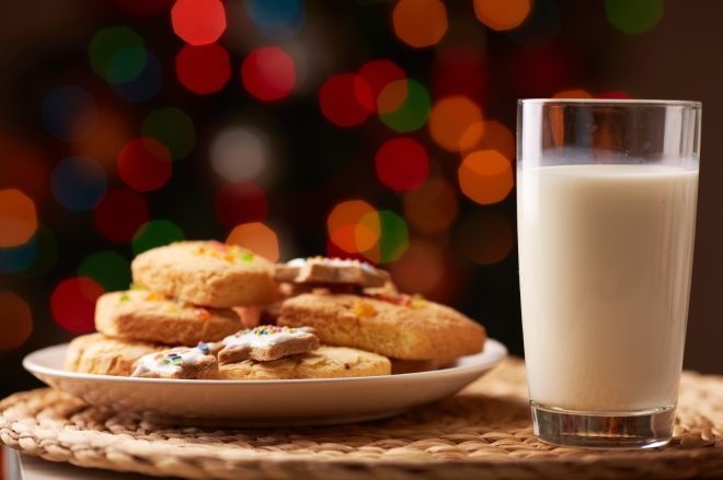 I've always left cookies out for Santa!