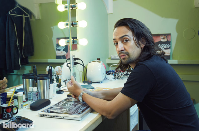 Broadway playwright and performer Lin-Manuel Miranda.