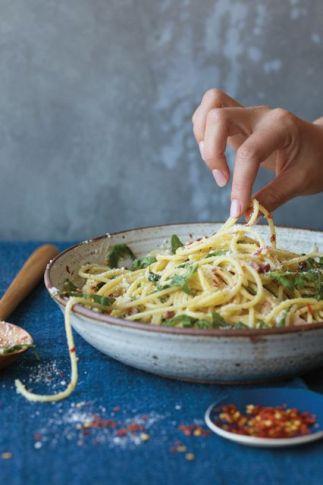 Spaghetti Cacio e Pepe by Chrissy Teigen.