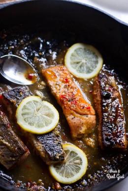 Chrissy Teigen's Chili Salmon.