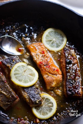 Chrissy Teigen's Chili Salmon.