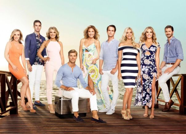 "The cast of Bravo's ""Summer House""."