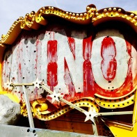 'Casino' sign @ The Neon Museum.