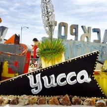 Historic Yucca Motel sign @ The Neon Museum.
