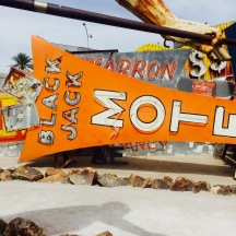 Black Jack Motel sign @ The Neon Museum.