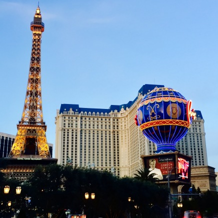 The Paris Hotel & Casino.