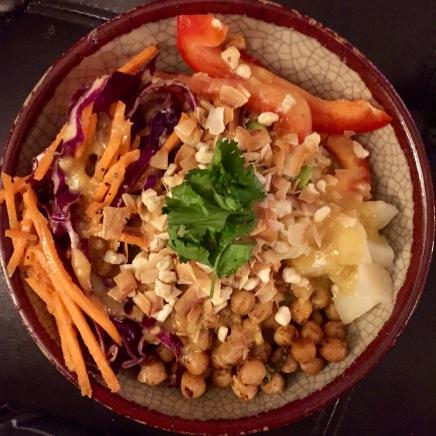 Tropical buddah bowl.