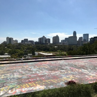 From the top of Graffiti Park