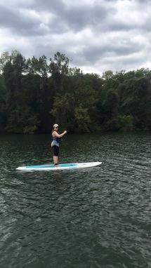 Paddle boarding!