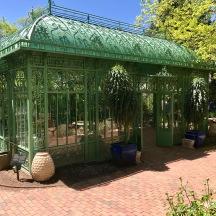 Hidden glass house