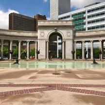 Fountain near Cheeseman Park