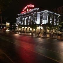 Union Station at dark