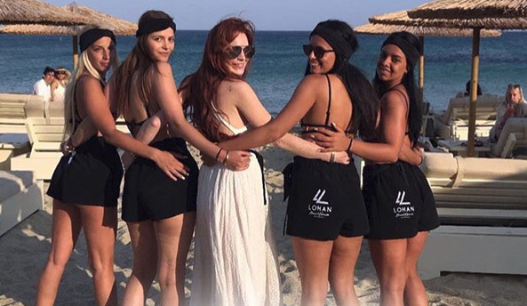 'Lindsay Lohan's Beach Club': 'I Would Rather Be Anywhere ...