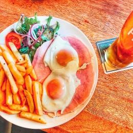 Ham & eggs.
