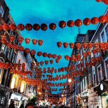China Town in Picadilly Circus!