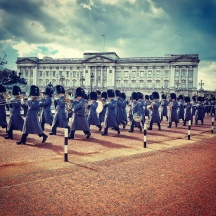 The changing of the guards.