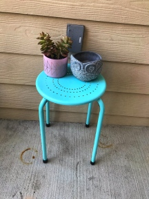 Blue table from Five Below!