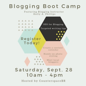 Blogging Boot Camp in Baton Rouge, Louisiana