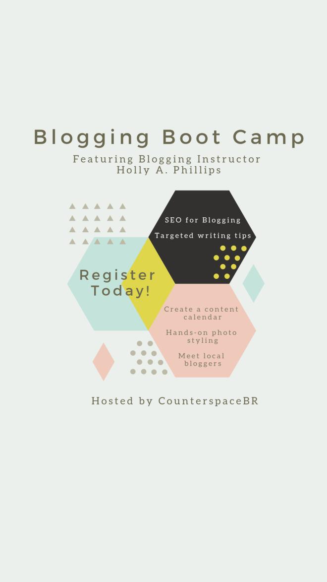 Blogging Boot Camp in Baton Rouge, Louisiana