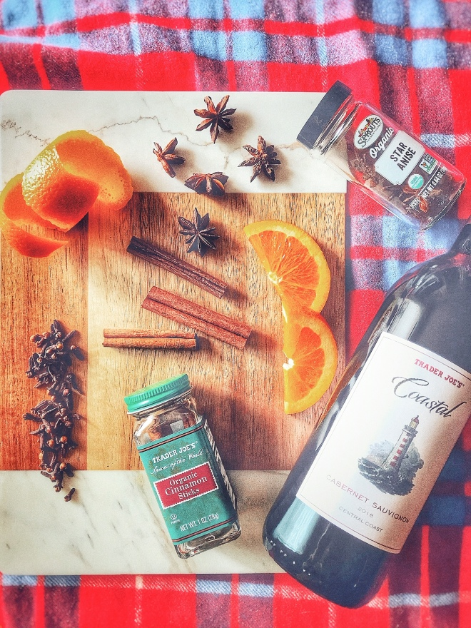 Mulled wine ingredients